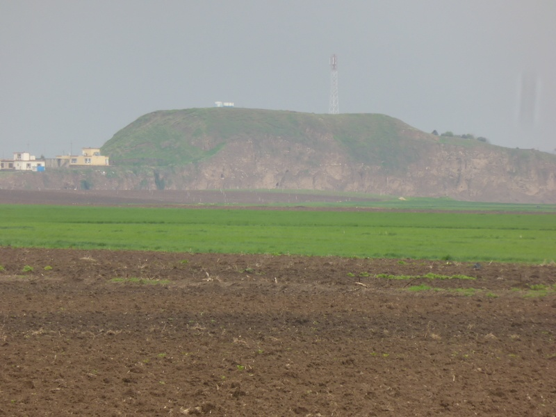 Hill 371; a zoomed in view from the previous photo.